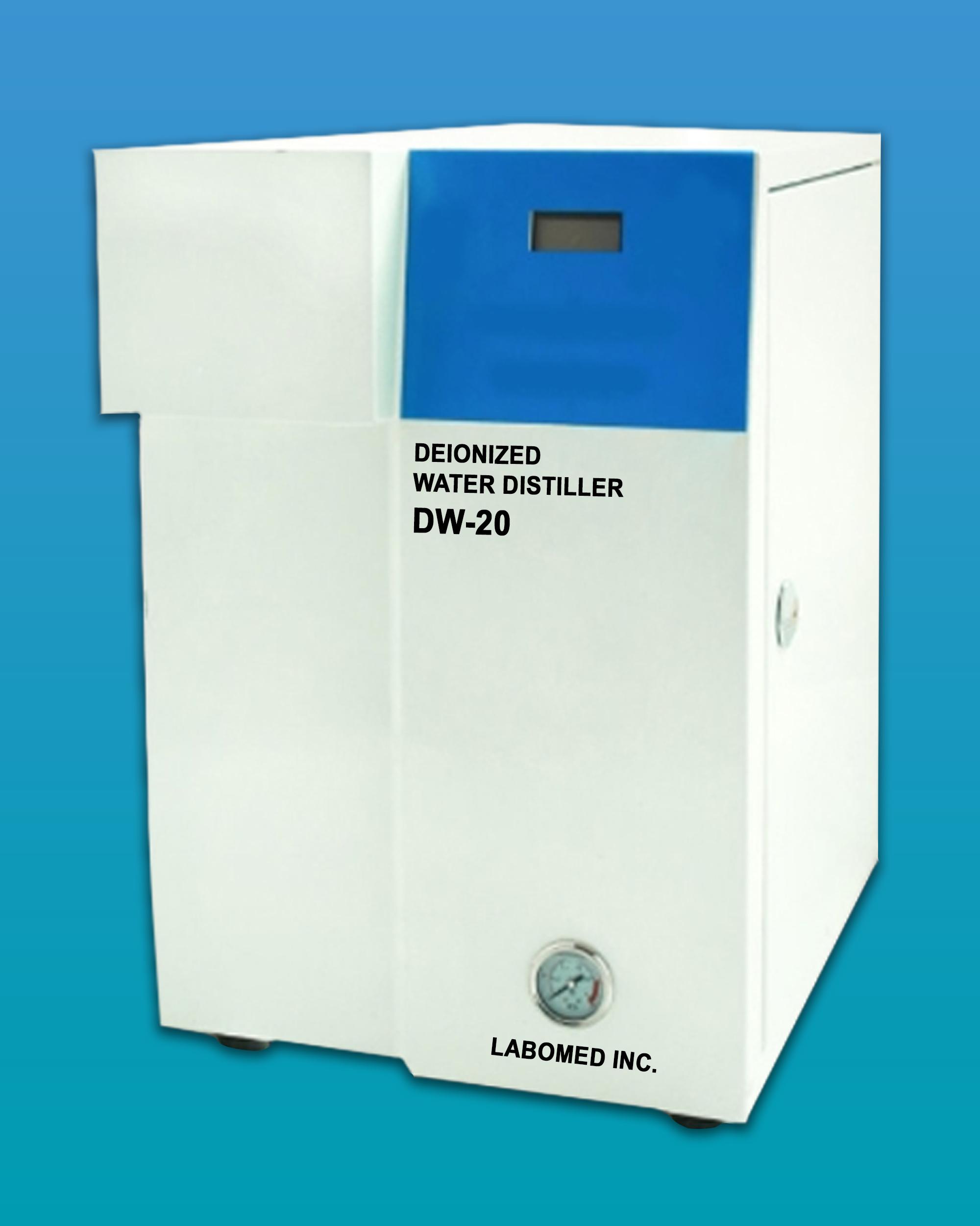 [DW-20] Deionized Water Distiller w/ Gauge