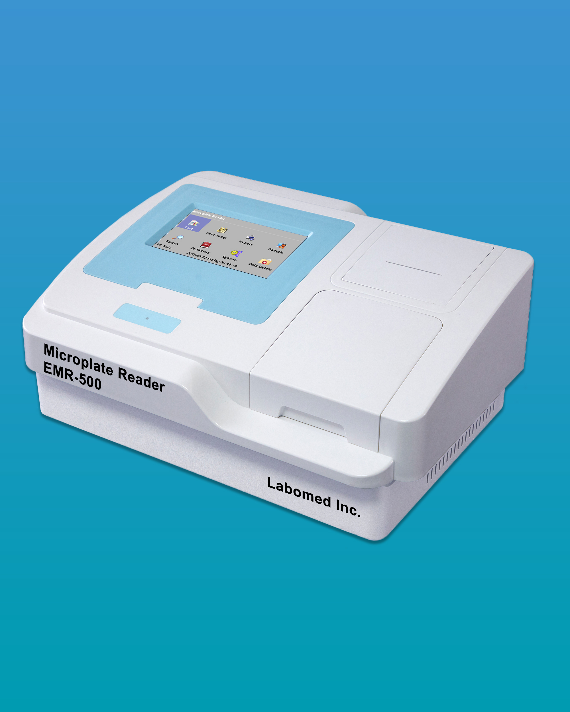 [EMR-500] Clinical Microplate Reader Touch Screen