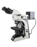 [LB-610] Binocular Metallurgical Microscope with Reflected Kohler and Halogen Illumination