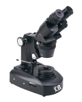 [LB-863] Binocular Gemological Microscope with Wide Field and Fluorescent Illumination