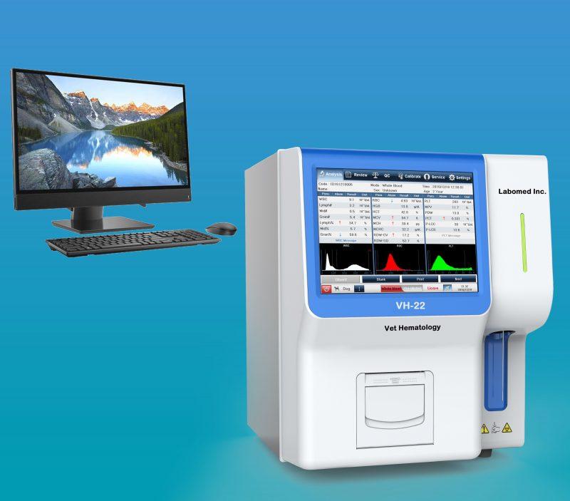 VH-22] Veterinary Auto Hematology Analyzer - Labomed, Inc