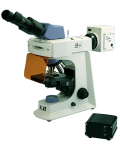 [LB-263] Biological Binocular Flourescent Microscope With LED Illumination and  Infinite Optical System