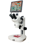 [LB-356] Digital Zoom Stereo Microscope With 5MP HD Touch Screen Digital Camera