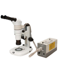 [LB-363] Trinocular Zoom Stereo Microscope with Infinity Parallel Optical System and LED Illumination