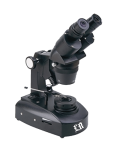 [LB-862] Binocular Gemological Microscope with Wide Field, Incident and Transmitted Halogen Illumination