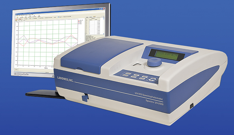 [UV-2550] UV-VIS Spectrophotometer with Multiple Cell Holders