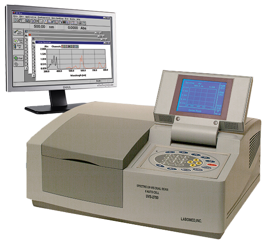 [UVS-2800] Spectro UV-Vis Dual Beam PC Scanning Spectrophotometer 8 Automatic Cell Changer