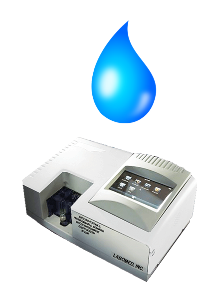 Labomed UV-VIS Spectrophotometers Products // Water