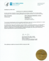FDA License for Microscopes