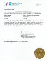 FDA License for Diagnostic Medical