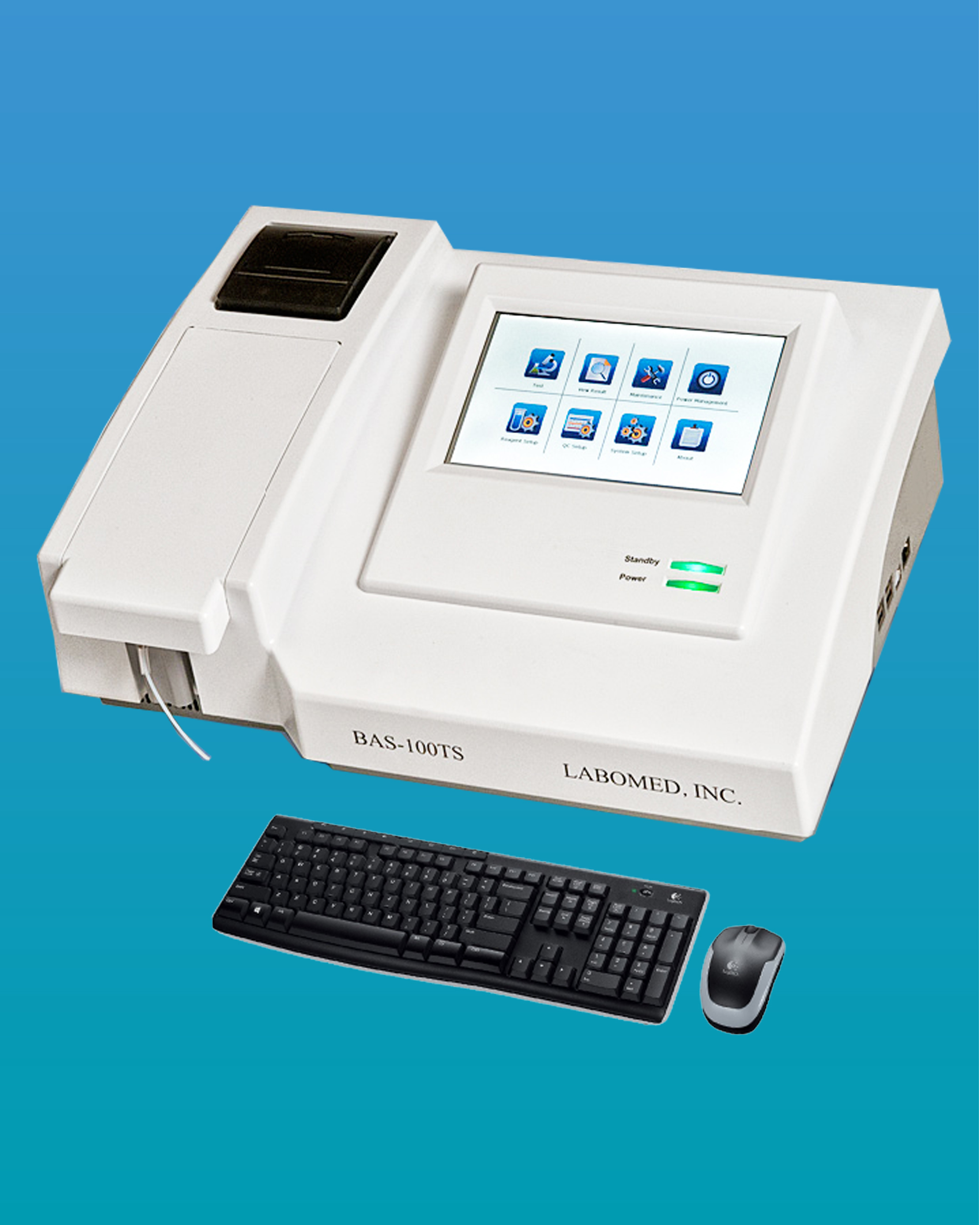 [BAS-100TS] Semi-Automatic Clinical Chemistry Analyzer