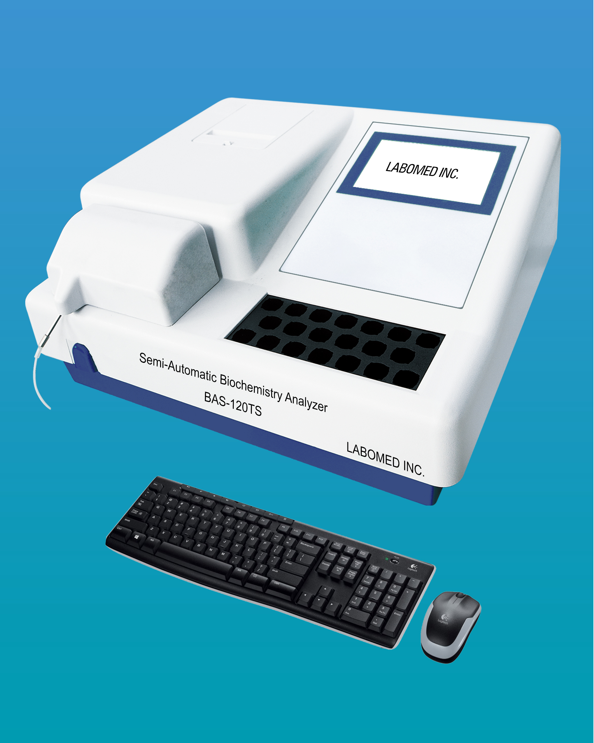 [BAS-120TS] Semi-Automatic Clinical Chemistry Analyzer w/ Incubator