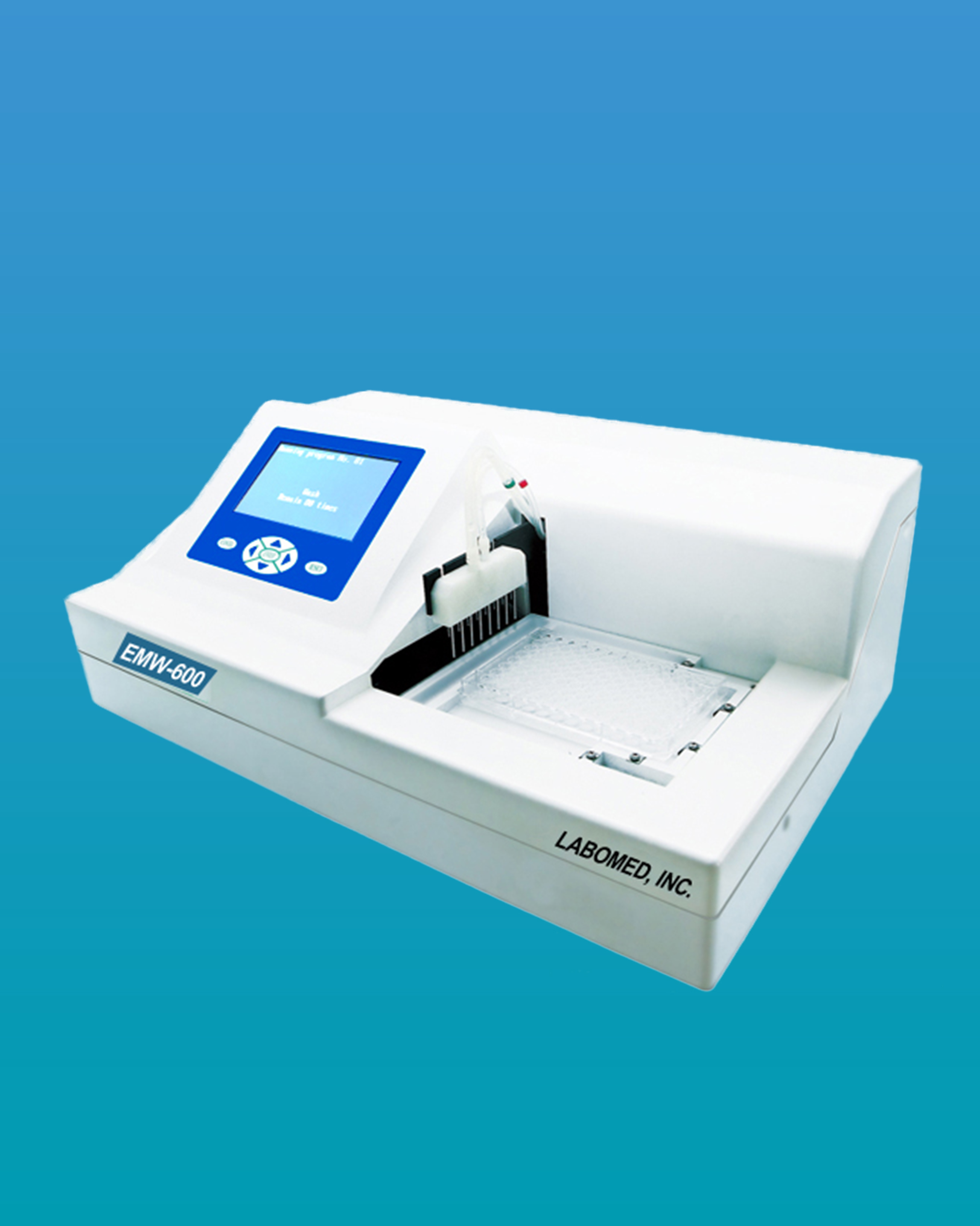 Emw 600 Auto Microplate Washer Touch Screen Labomed Inc