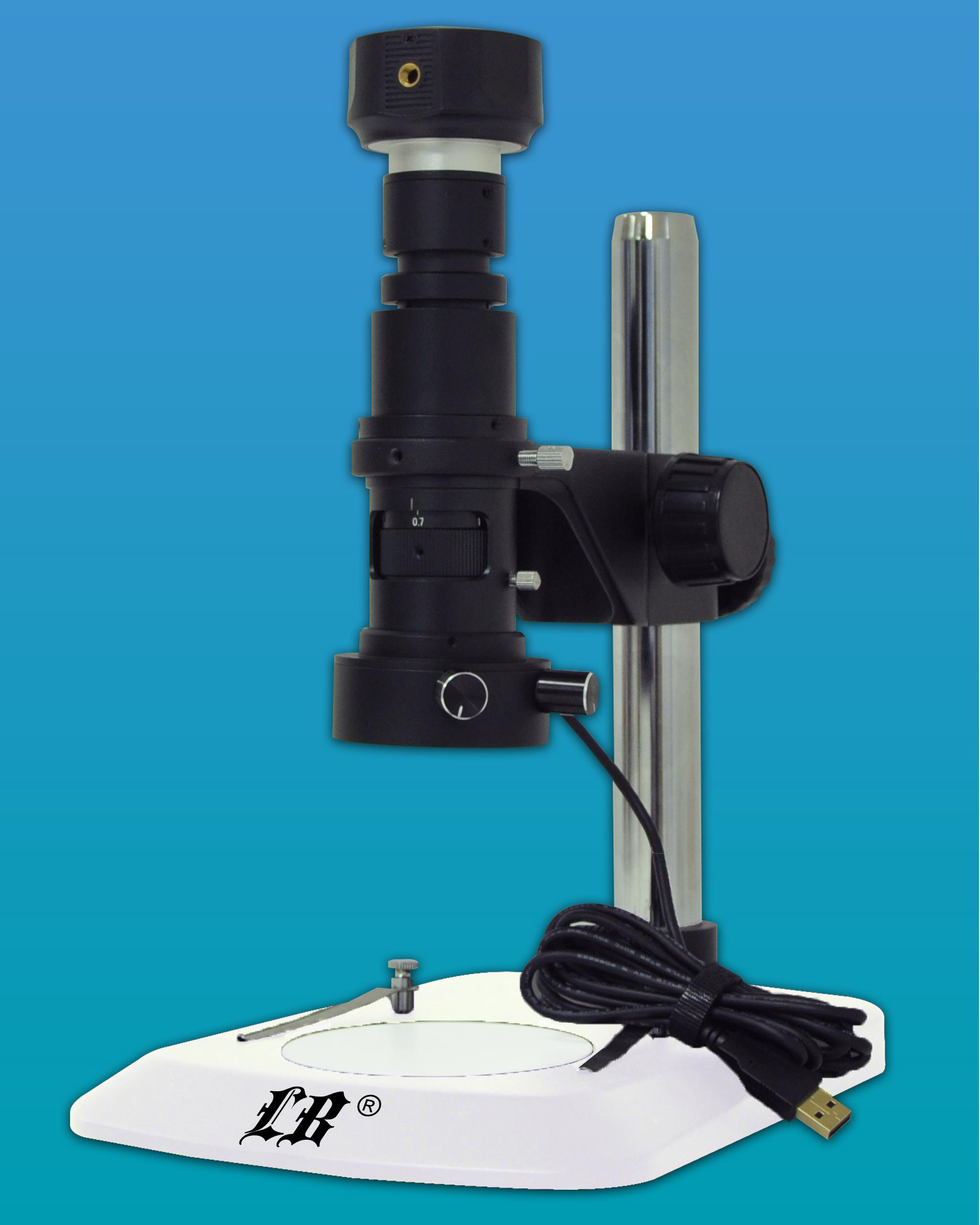 [LB-102] Digital Monocular Microscope w/ USB2.0 Digital Camera(5.0MP)