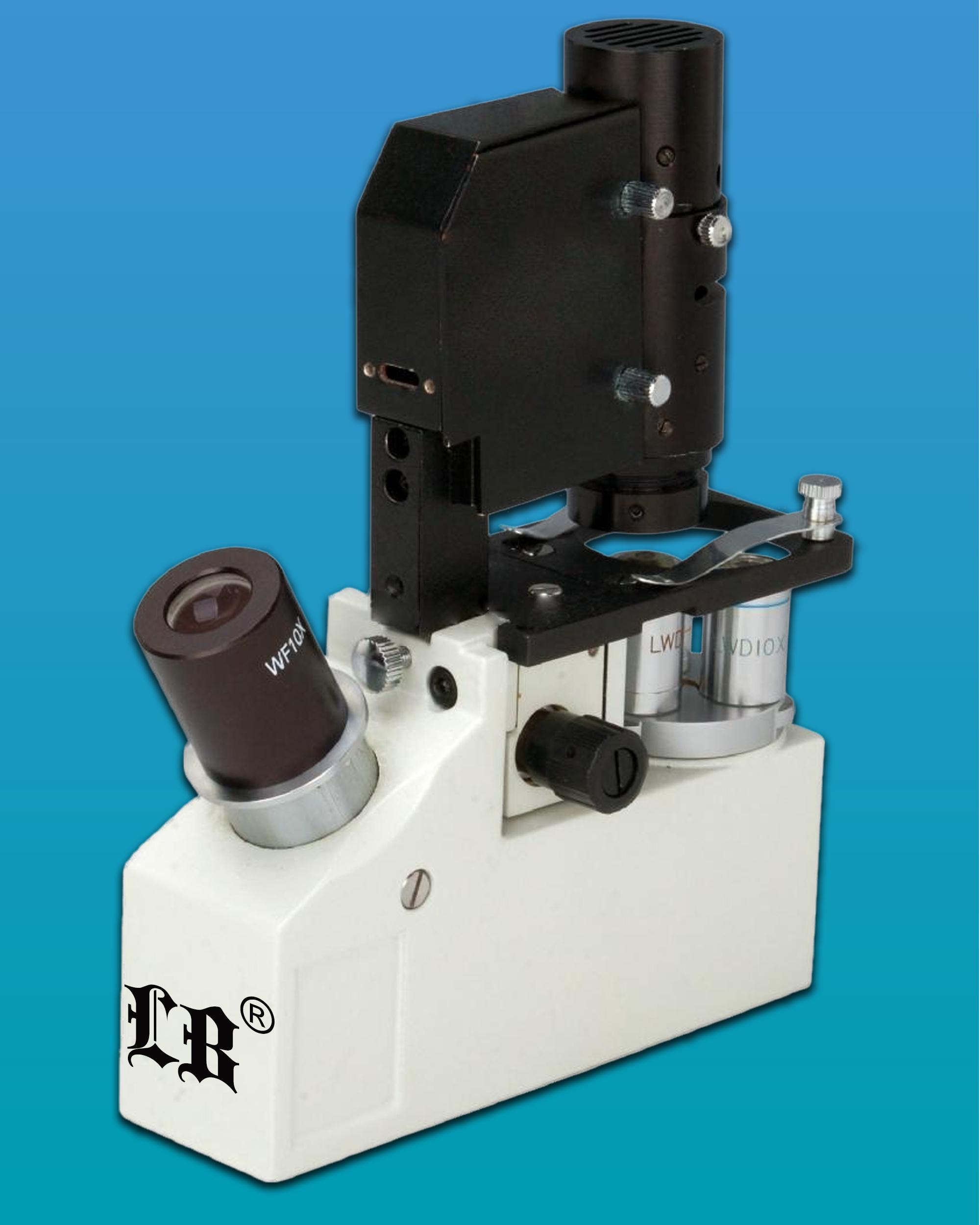 [LB-122] Portable Monocular Inverted Biological Microscope