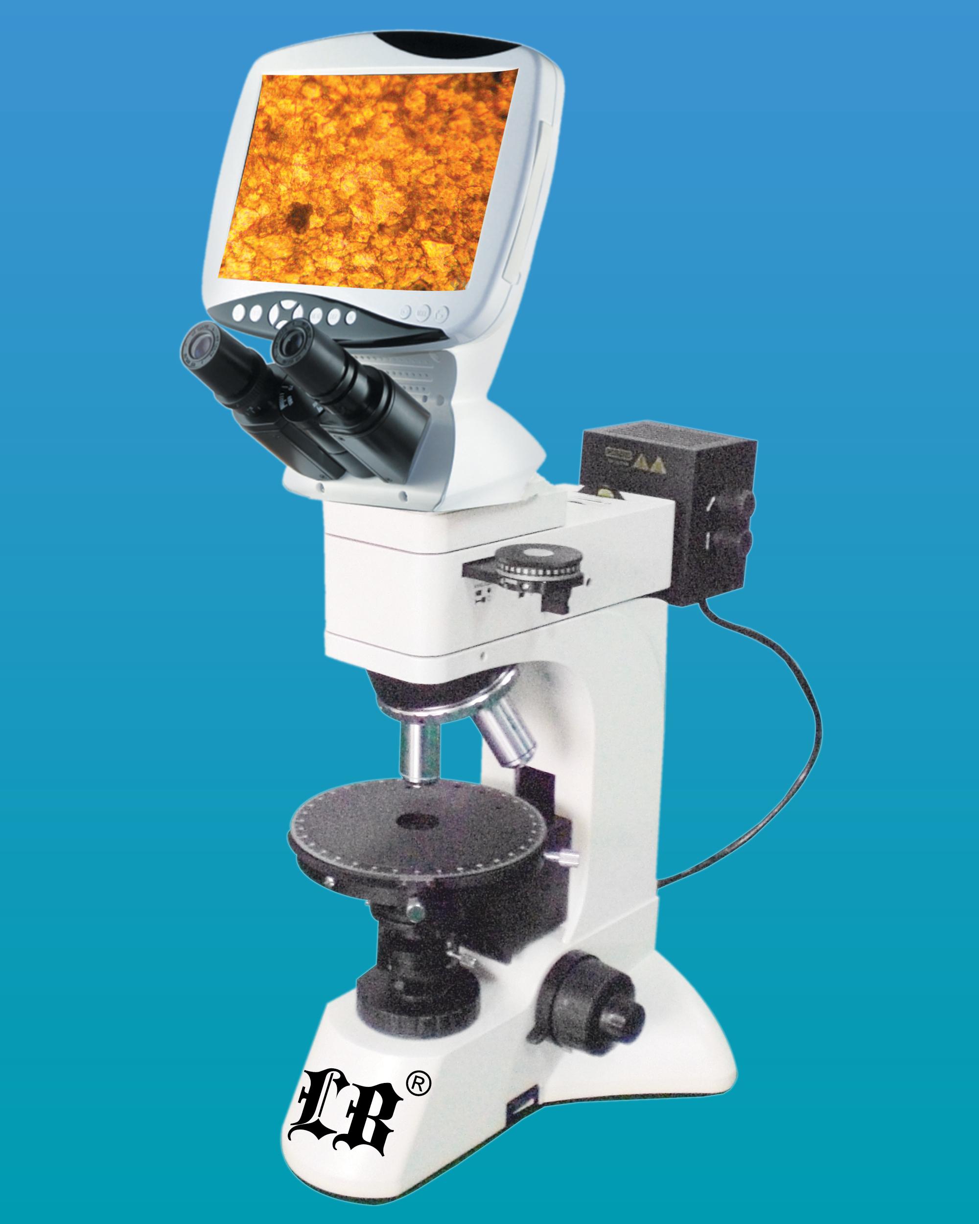 [LB-1500] Digital LCD Polarizing Microscope w/ 12.0MP Camera