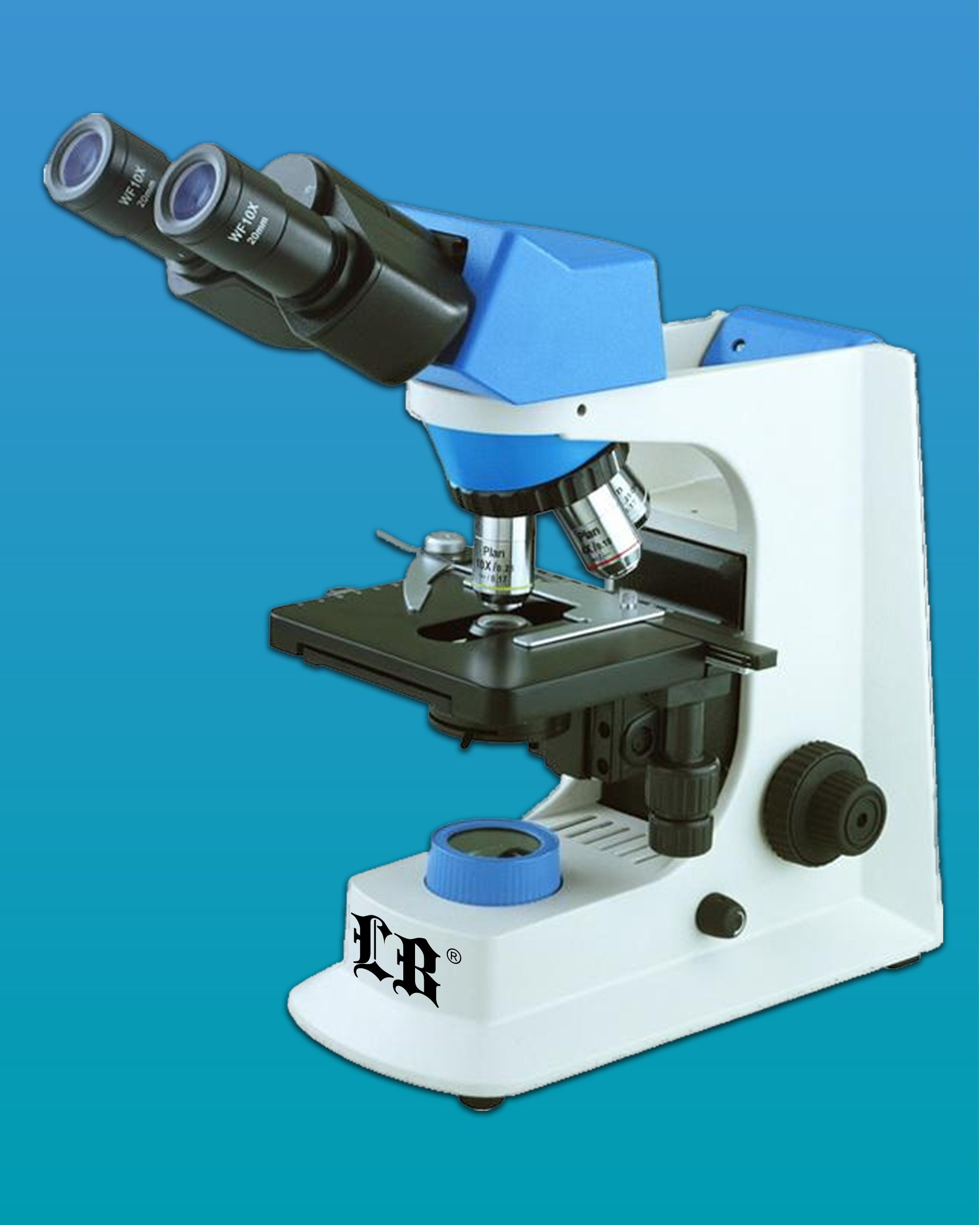 [LB-207] Biological Interference Microscope w/ Wide Field, & Infinity E-Plan Objectives
