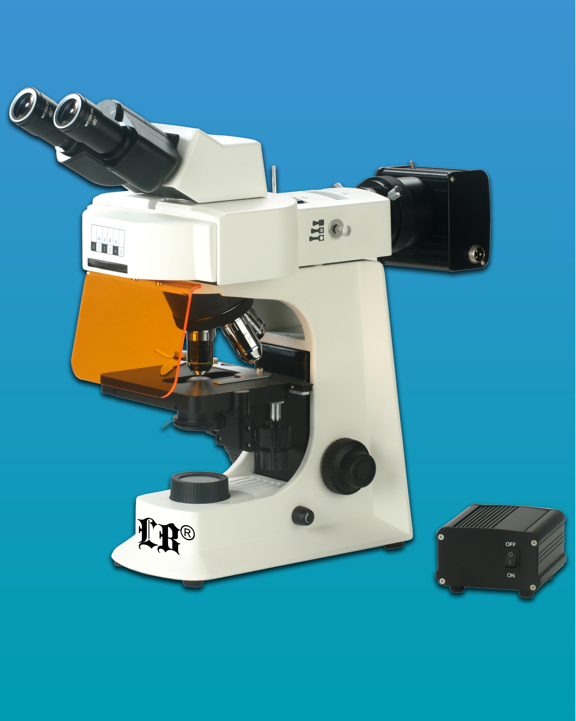 [LB-263] Biological Binocular Flourescent Microscope w/ LED Illumination &  Infinite Optical System