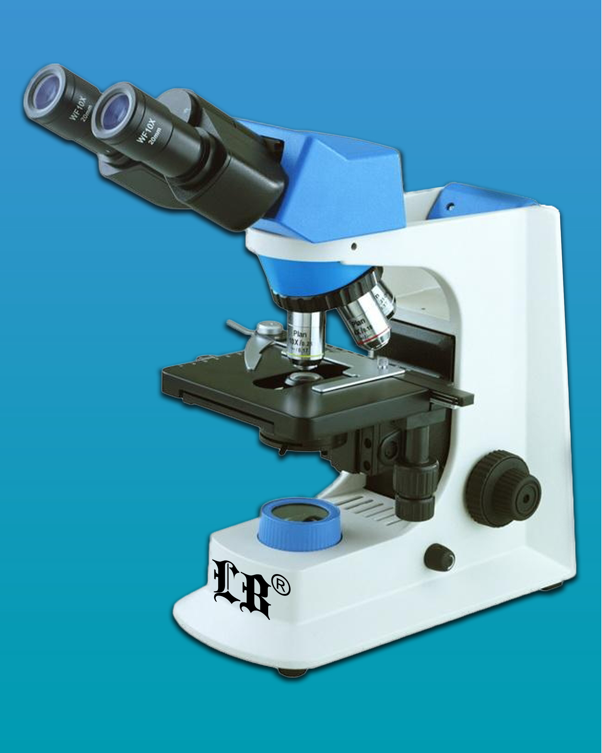 [LB-270] Biological/ Medical Binocular Microscope w/ Infinite Optical System & Infinity Color Correction