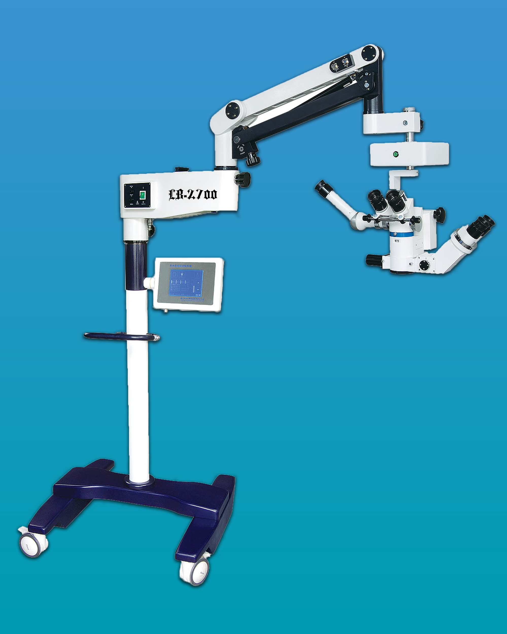 [LB-2700] Binocular Latest Surgical Microscope w/ Assistant Scopes for Ophthalmic & General Surgery