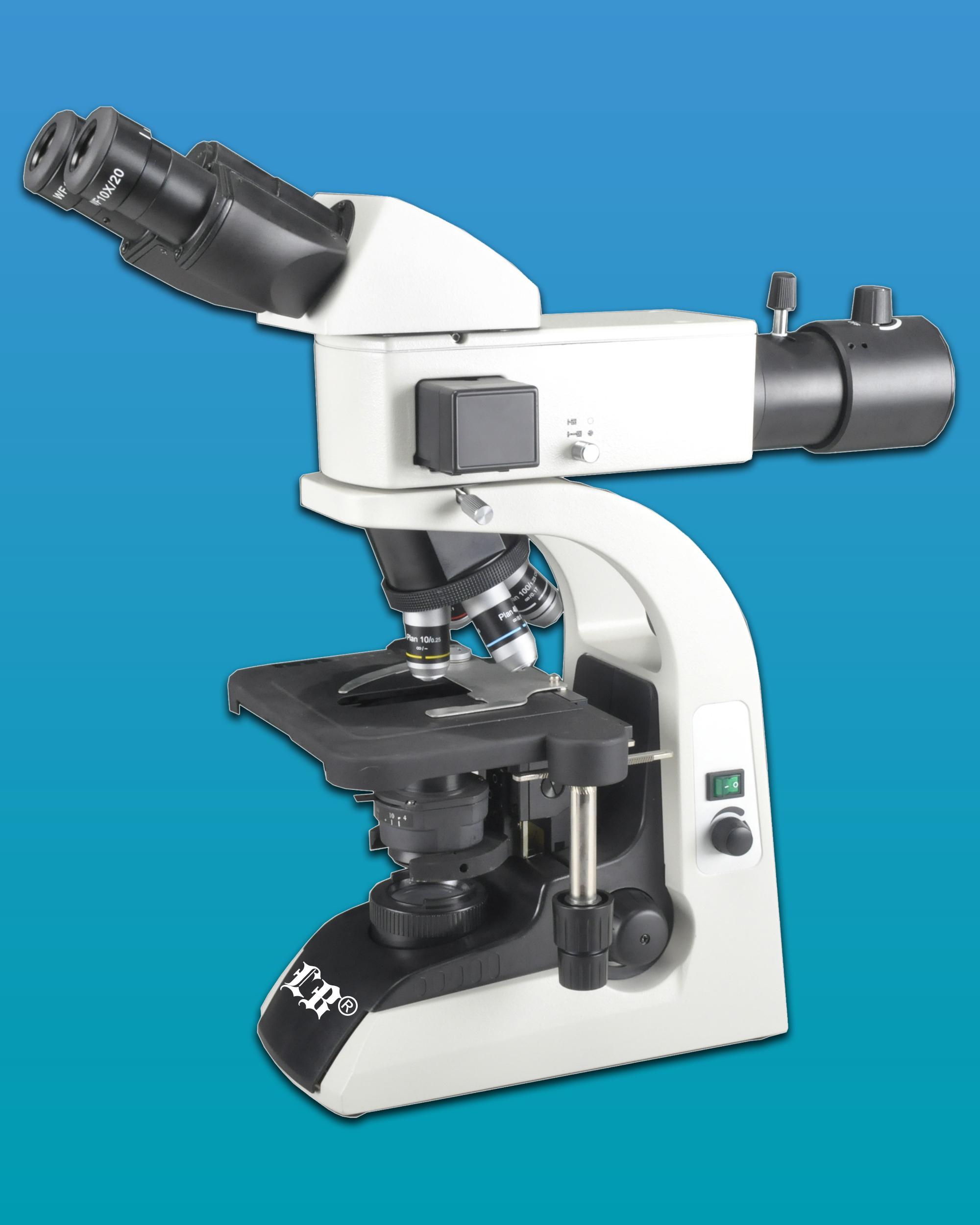 [LB-274] Binocular LED Fluorescent Biological Microscope & Abbe Condenser (Anti-Fungus)
