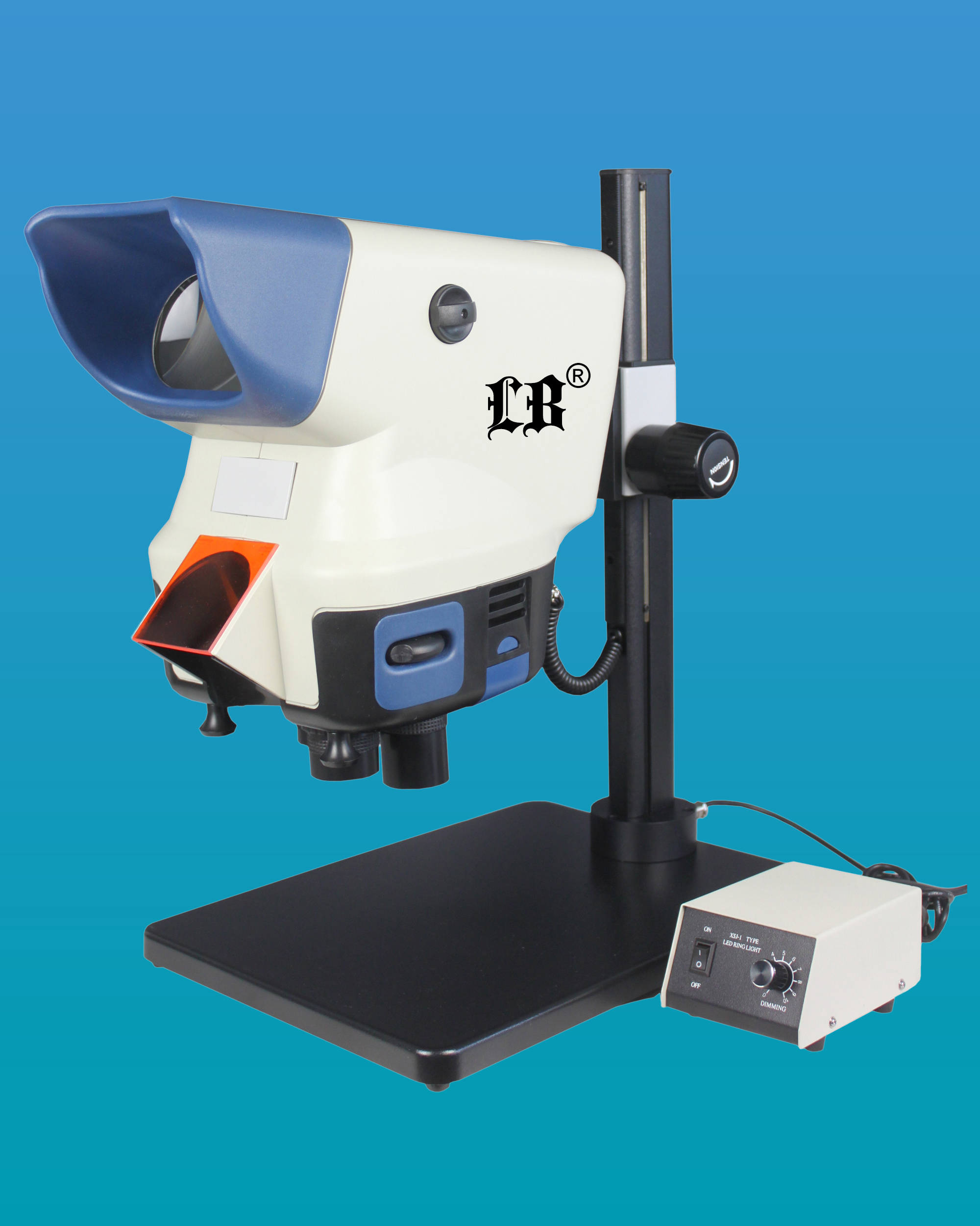 [LB-370] Wide Field Digital Zoom Stereo Microscope
