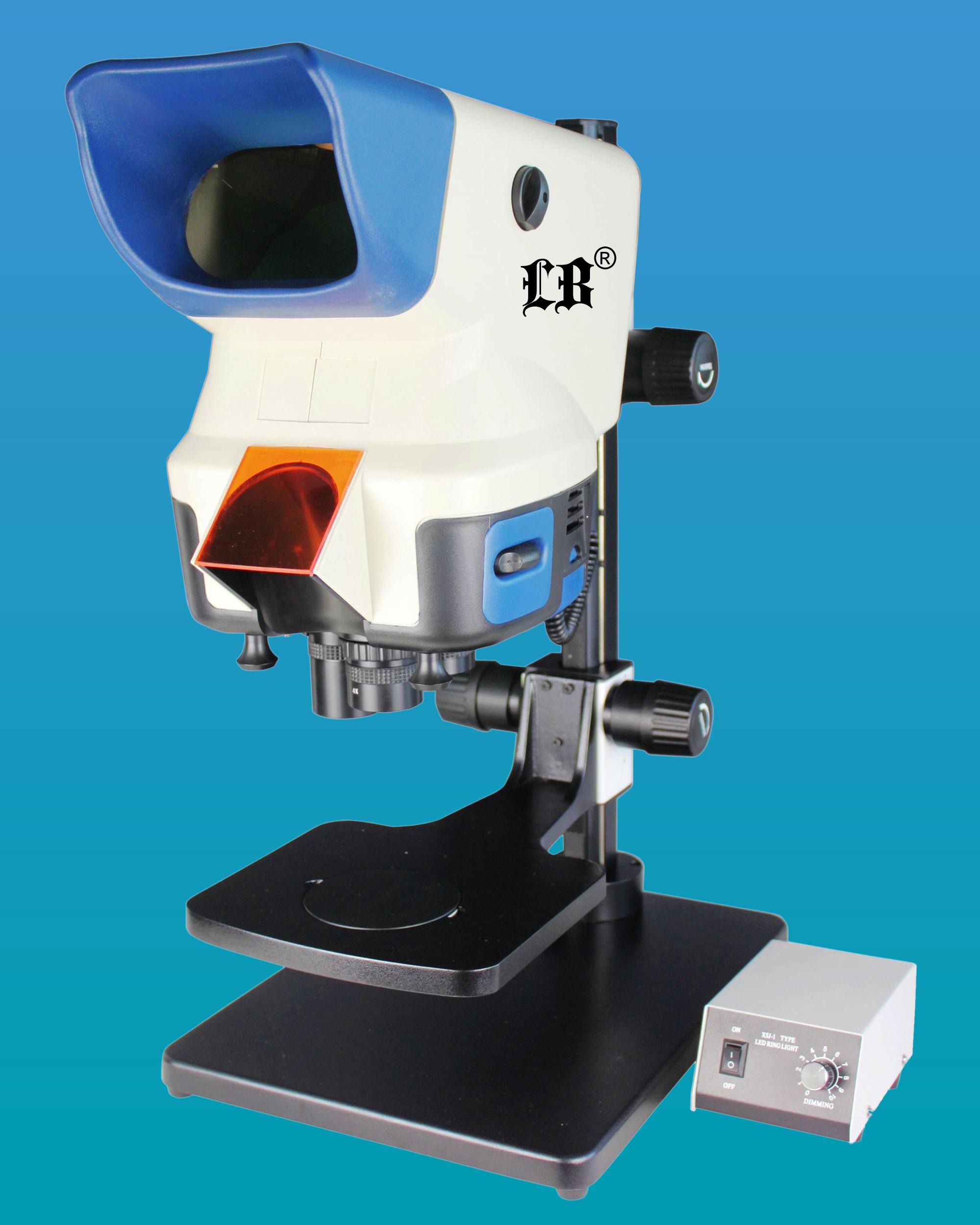 [LB-371] Wide Field Digital Zoom Stereo Microscope w/ Adjustable Stage