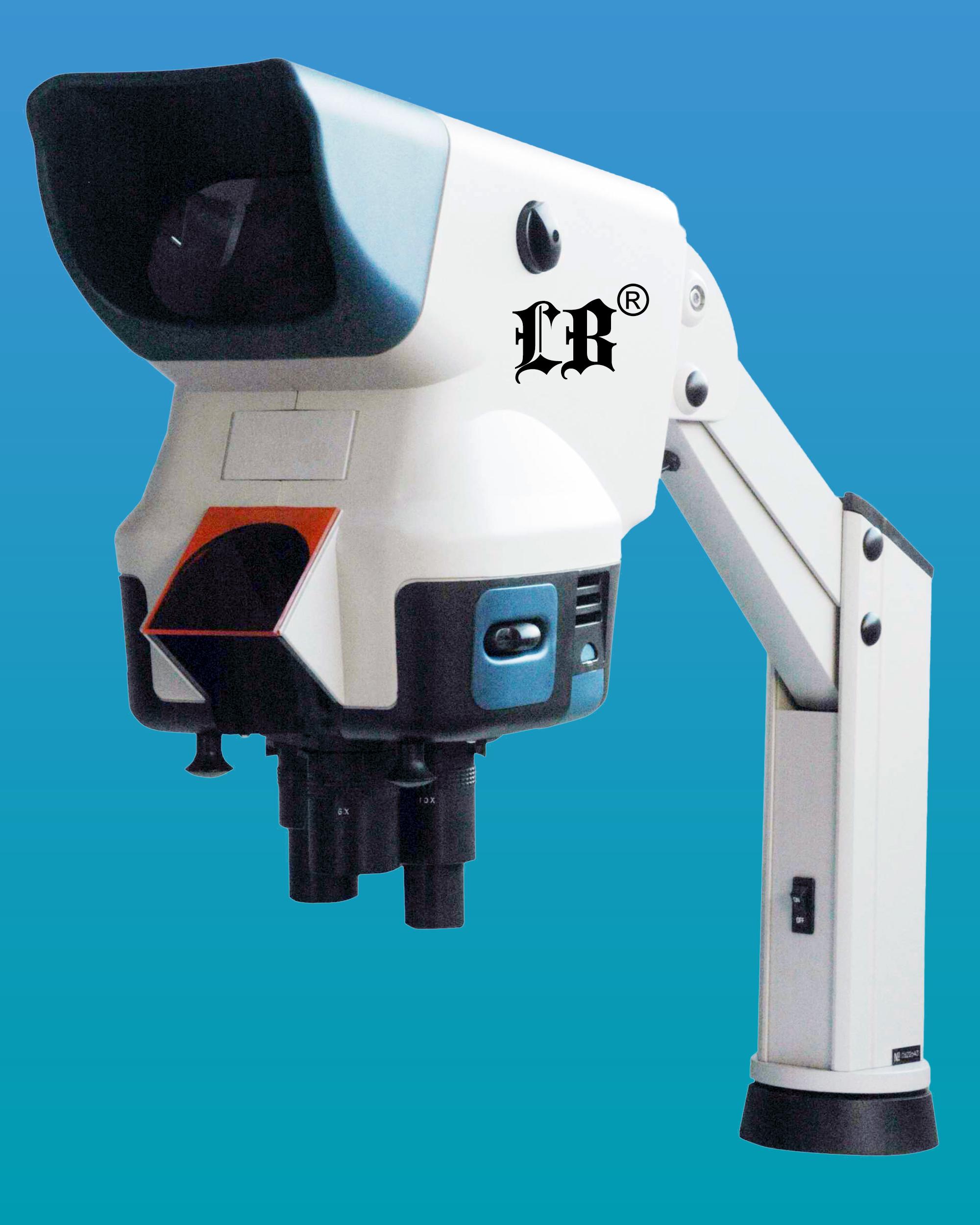[LB-372] Wide Field Digital Zoom Stereo Microscope w/ Universal St&