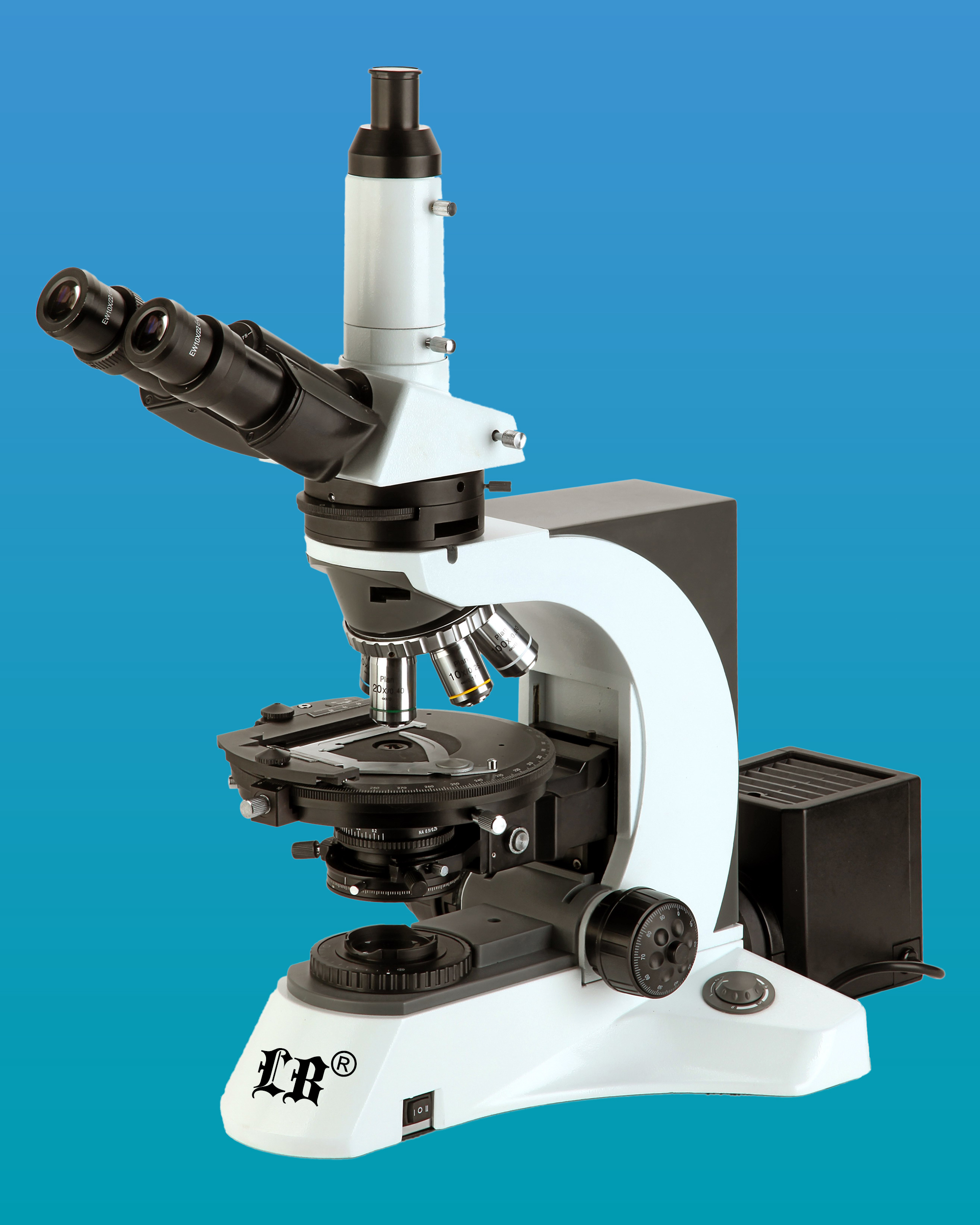 [LB-592] Polarizing Trinocular Microscope w/ Infinite Optical System