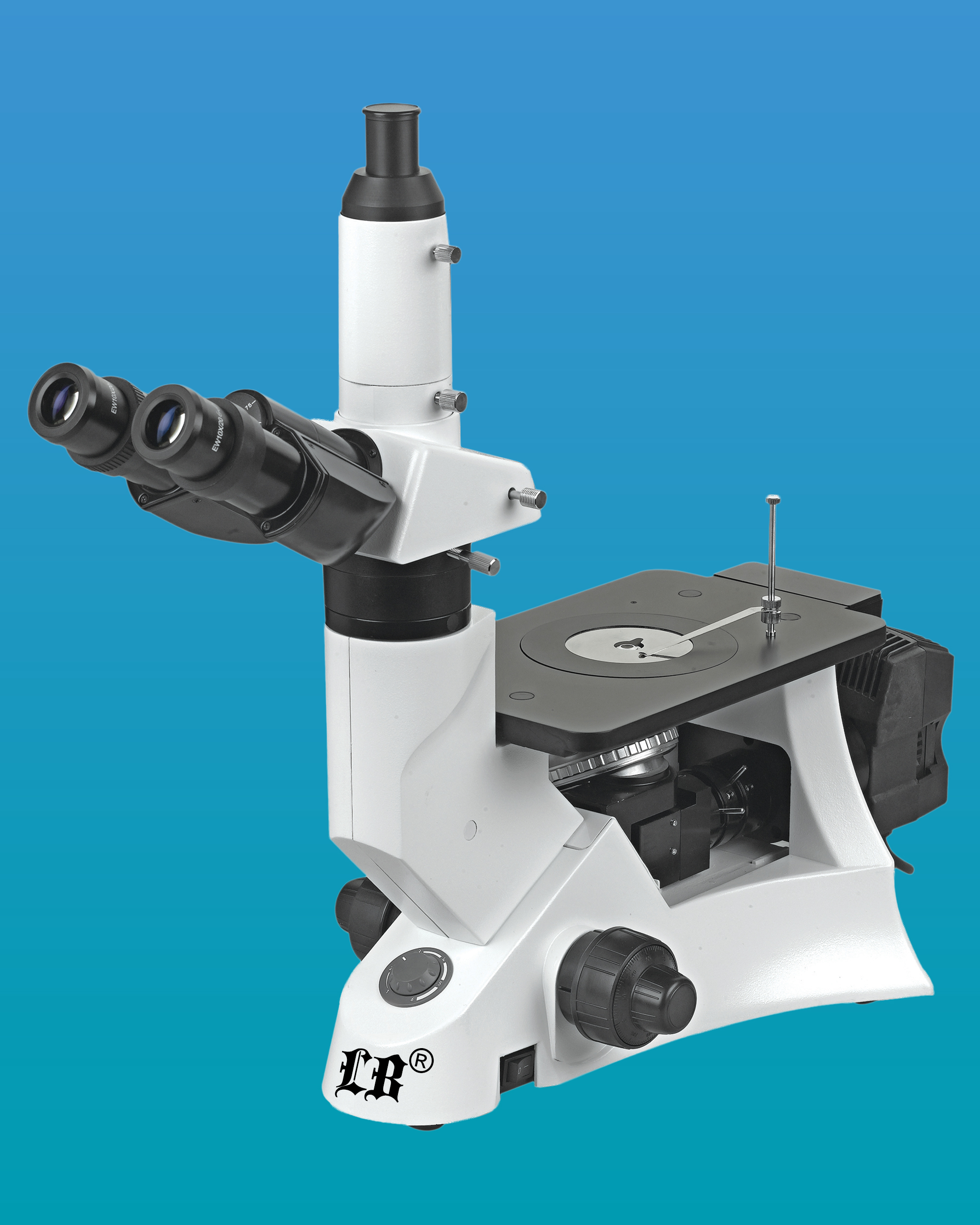 [LB-602] Trinocular Inverted Metallurgical Microscope w/ Infinite Optical System
