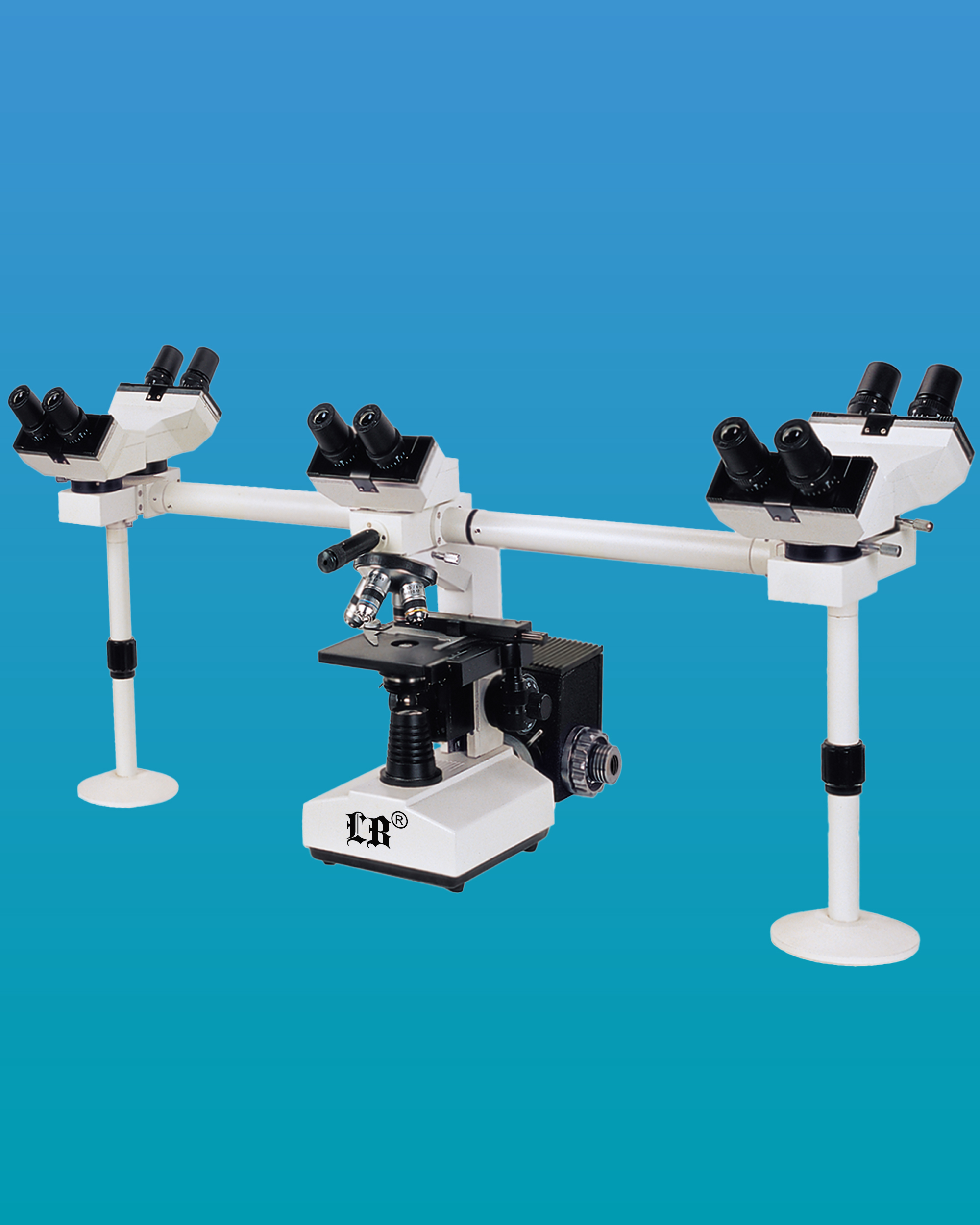 [LB-933] Multi-Head Microscope for 5 Users