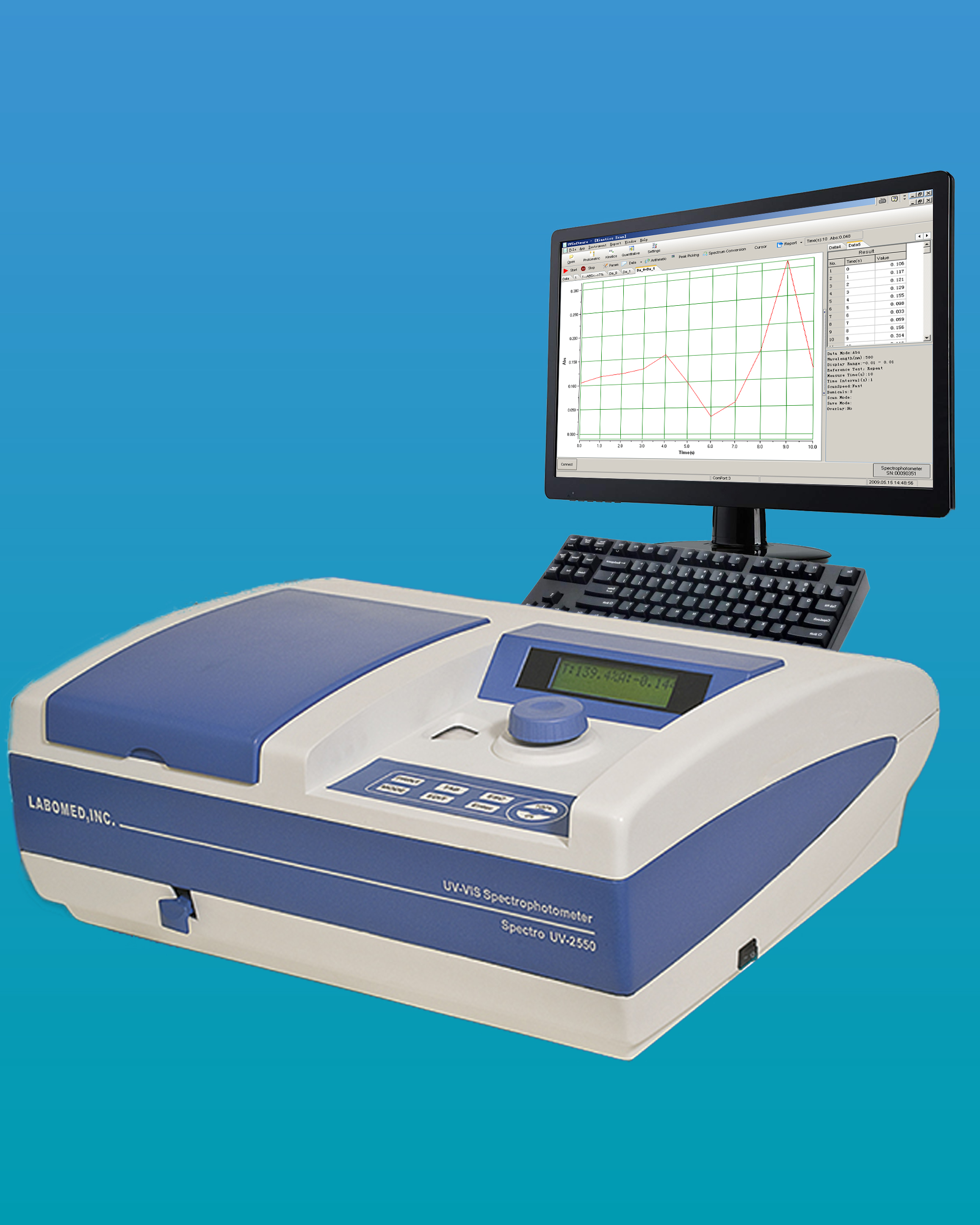 [UV-2550] UV-VIS Spectrophotometer