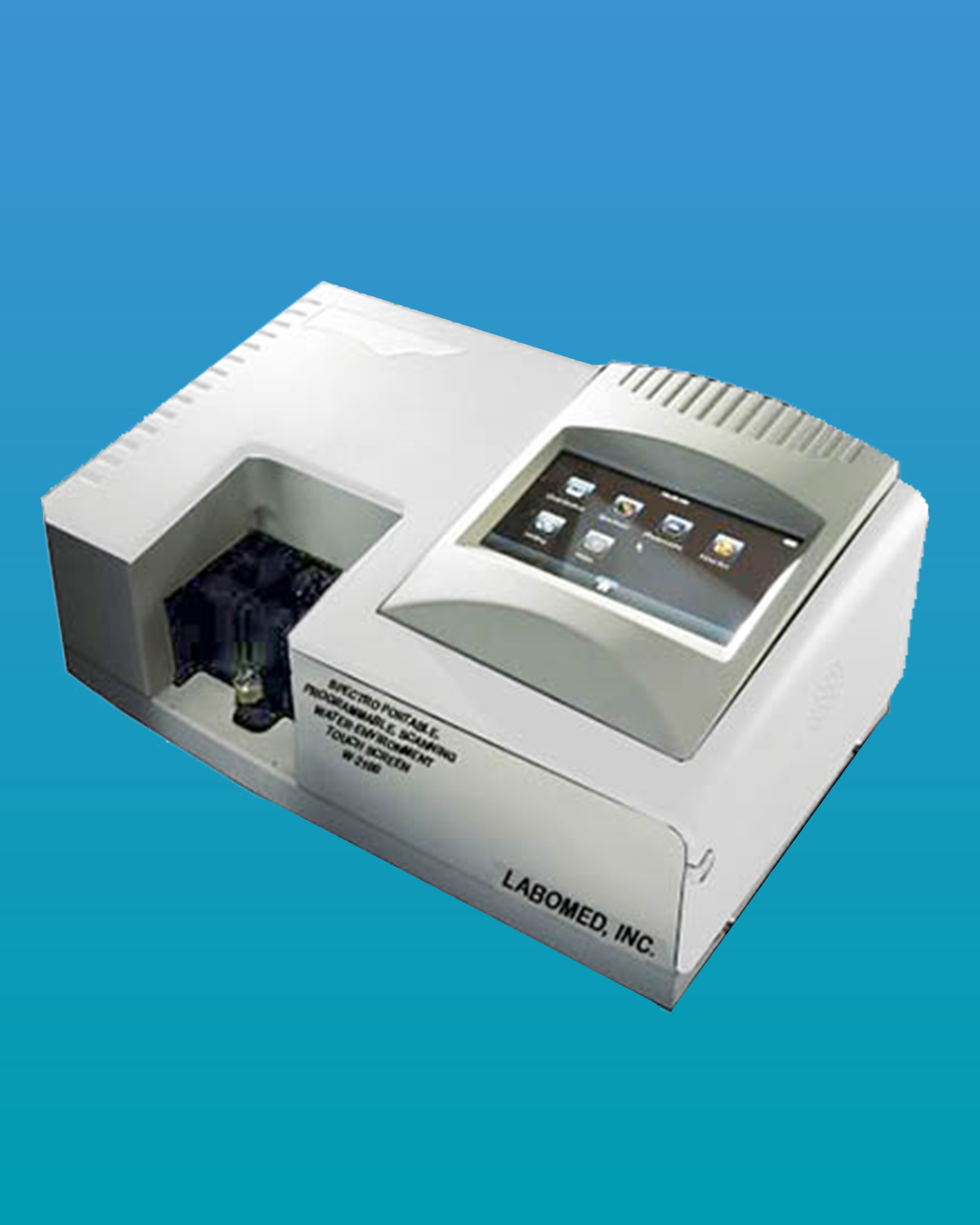 [W-2100] Water Testing Spectrophotometer Programmable, Portable, Scanning, Touch Screen