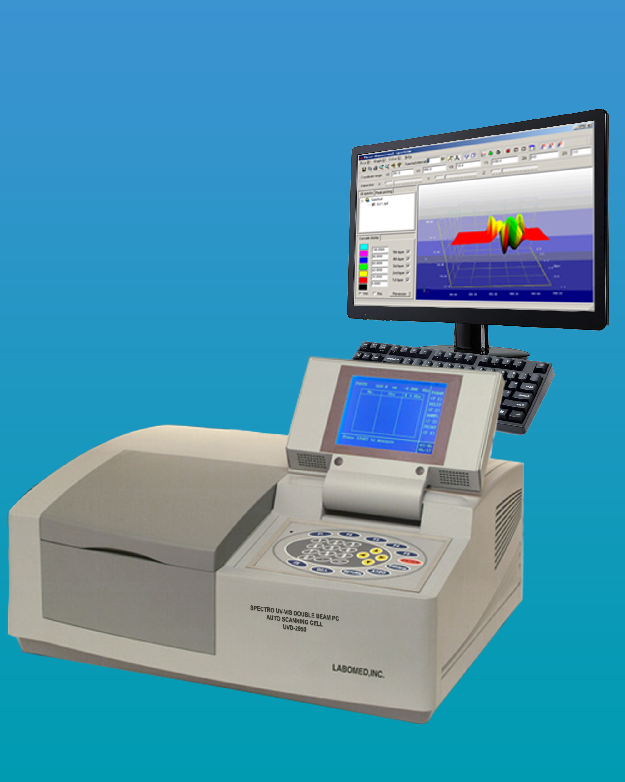 [UVD-2950] Spectro UV-VIS Double Beam PC Scanning Spectrophotometer