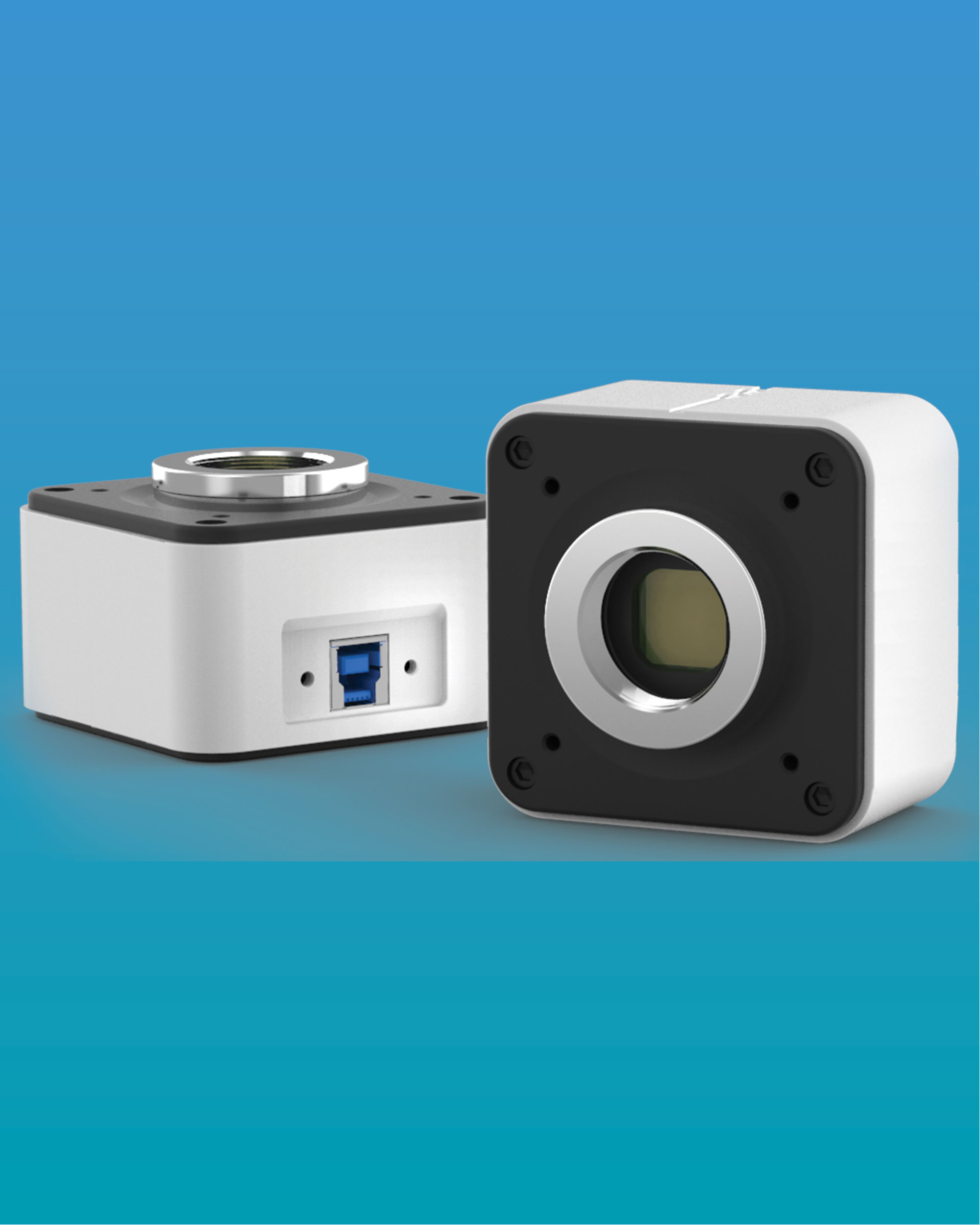 [LC-33] 20.0 MP USB3.0 Digital Camera for Fluorescence, Biological, Polarizing, Metallographic and Stereoscopic Microscope